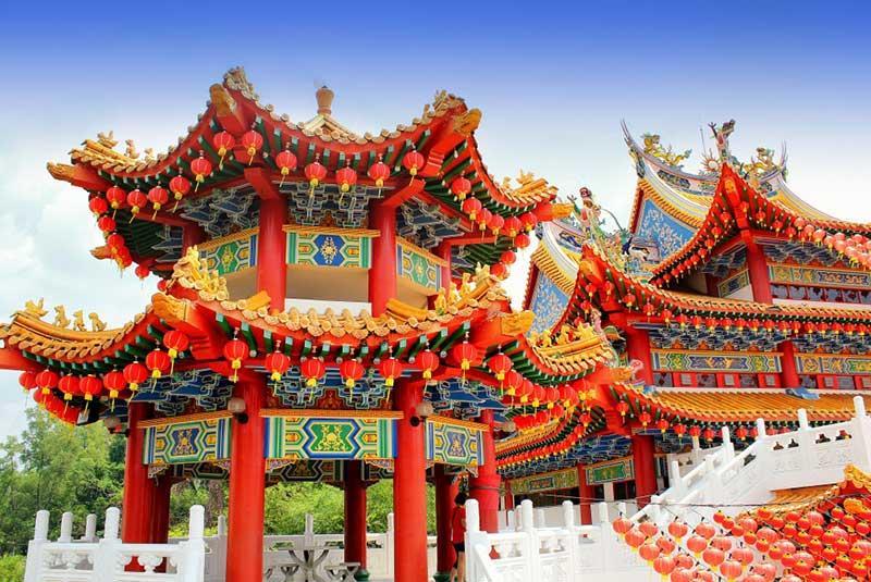 معبد تیان هو کوالالامپور مالزی