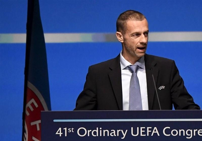 فوتبال دنیا، واکنش رئیس یوفا به شائبه کوشش باشگاه های بزرگ اروپا برای ایجاد سوپر لیگ