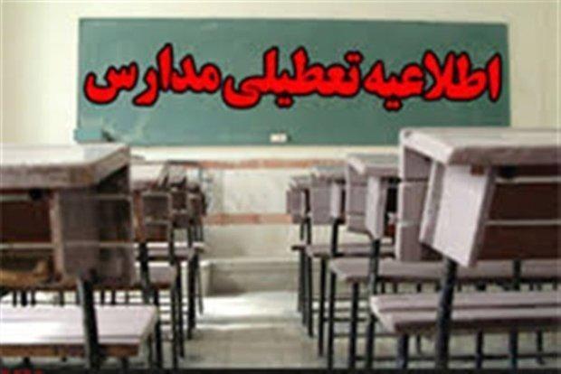 بعضی مدارس شوش و ایذه تعطیل شدند