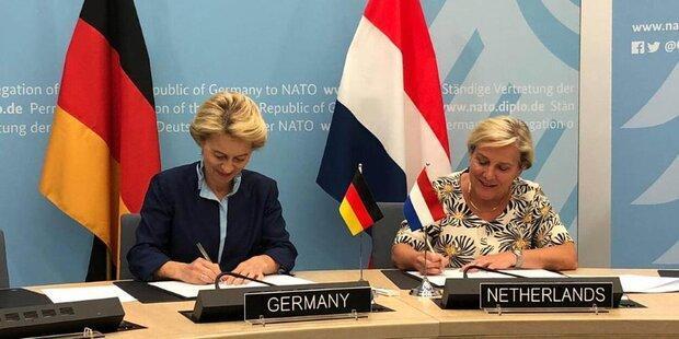 آلمان و هلند اینترنت نظامی مشترک راه اندازی می نمایند
