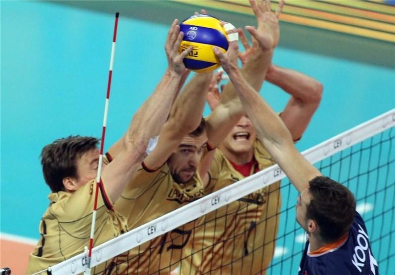 لیگ ملت های والیبال، آلمان به سختی از سد چین گذشت