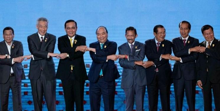 تأکید رهبران آسه آن بر خویشتن داری درقبال مناقشات مرزی در دریای چین جنوبی
