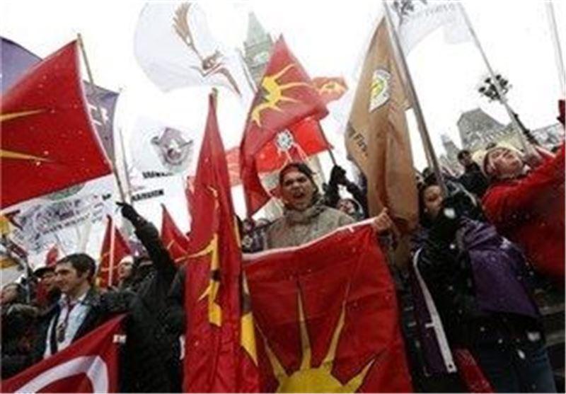 گزارش تصویری از اعتراض مردمی به دولت کانادا در آمریکا