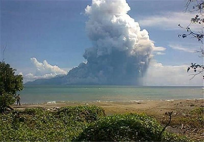 ادامه کوشش ها برای یافتن اجساد قربانیان فوران آتشفشان در اندونزی