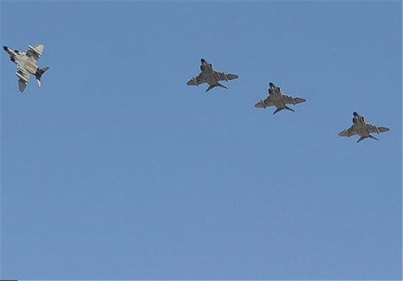 برقراری پوشش ویژه هوایی از تنگه هرمز تا دریای عمان توسط جنگنده های ارتش