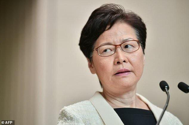 رئیس اجرایی هنگ کنگ: اوج گیری خشونت، منازعات اجتماعی را حل نمی کند