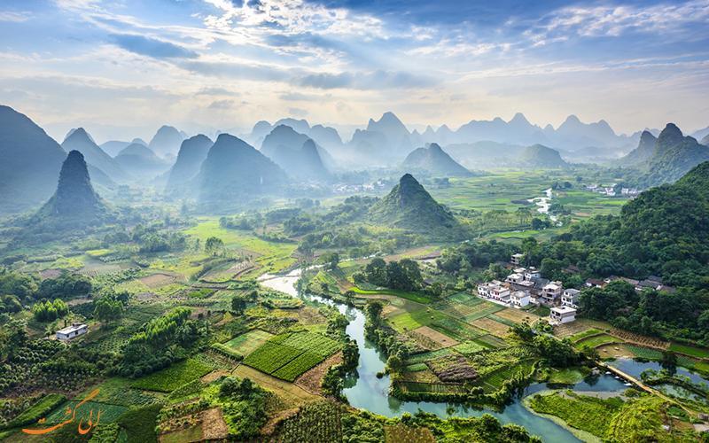 رودخانه لی در چین در فهرست 10 عجایب آبی دنیا