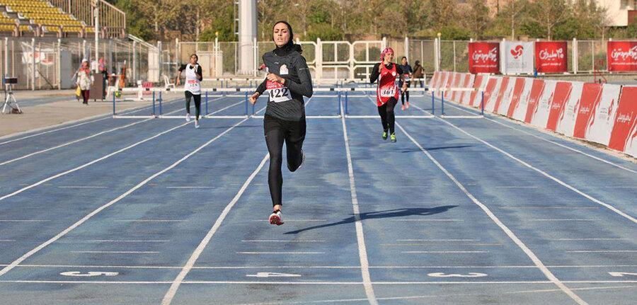 دانشگاه آزاد لرستان قهرمان مرحله دوم مسابقات دو و میدانی باشگاه های کشور بانوان شد