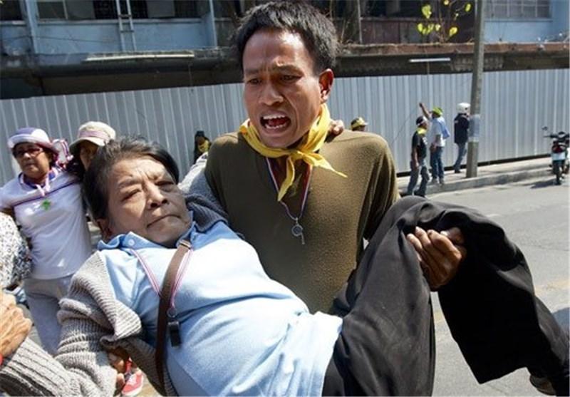 زخمی شدن 2 نفر در درگیری های تایلند