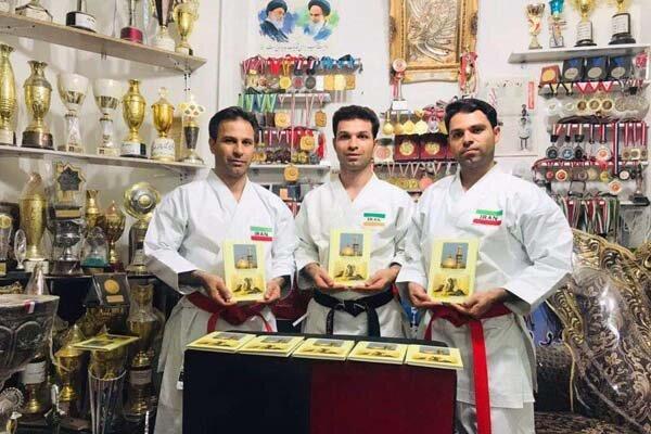 ملی پوش کاراته کتاب امام حسین(ع) را به انگلیسی ترجمه کرد