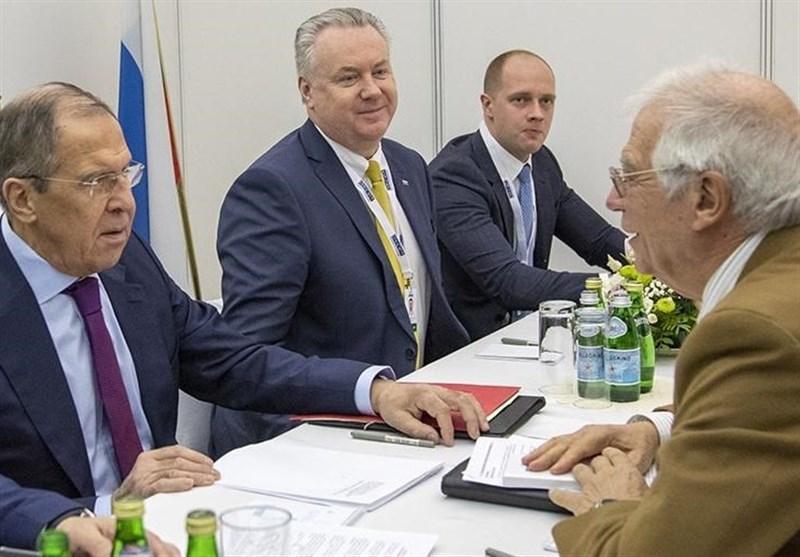 موضوع مذاکرات لاوروف با مسئول جدید سیاست خارجی اتحادیه اروپا