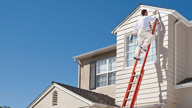 آموزش رنگ آمیزی نمای ساختمان