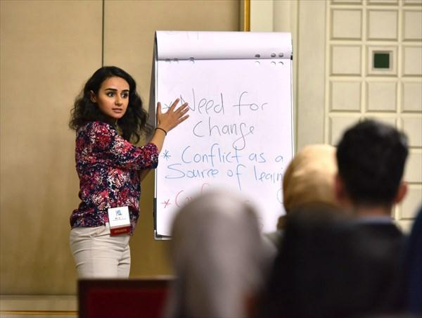 آمریکا با پروژه آیلپ جوانان عراقی را در مقابل حکومت قرار می دهد، دلار بگیر، شعار بده، جریان ساز شو !