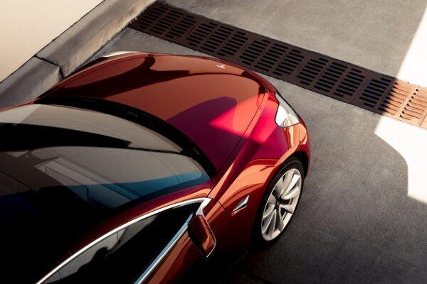خودروی مدل 3 تسلا قدرتمندتر می شود