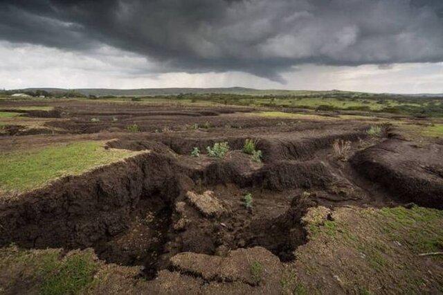 رتبه اول ایران در فرسایش خاک، تائید تنها 2 مالچ زیستی برای تثبیت کانون های ریزگرد