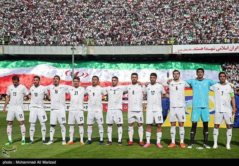تثبیت موقعیت تیم ملی ایران در صندلی اول آسیا و بیست وهشتم دنیا