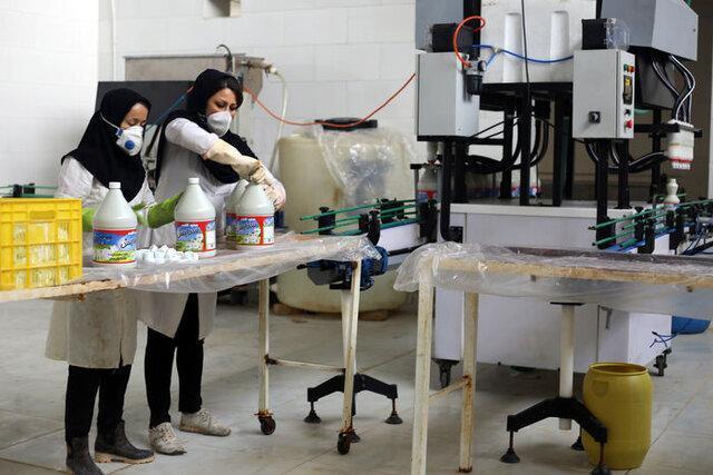 فعالیت 10 کارخانه برای فراوری مواد شوینده و ضدعفونی کننده در گیلان