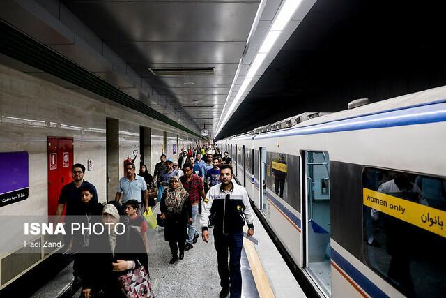 خدمات رسانی متروی تهران به تماشاگران شهرآورد پایتخت