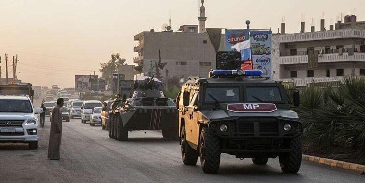 مسکو: گشت زنی های پلیس نظامی روسیه در مرز سوریه-ترکیه ادامه می یابد