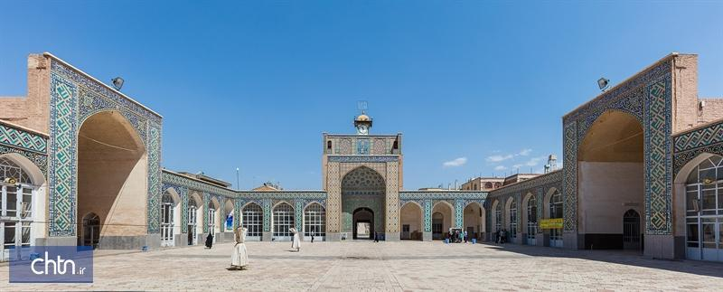 مرمت تزیینات ایوان شرقی مسجد ملک کرمان شروع می گردد