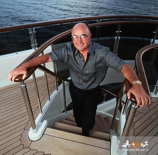 کشتی لاکچری برای دوازدهمین مرد ثروتمند انگلیس
