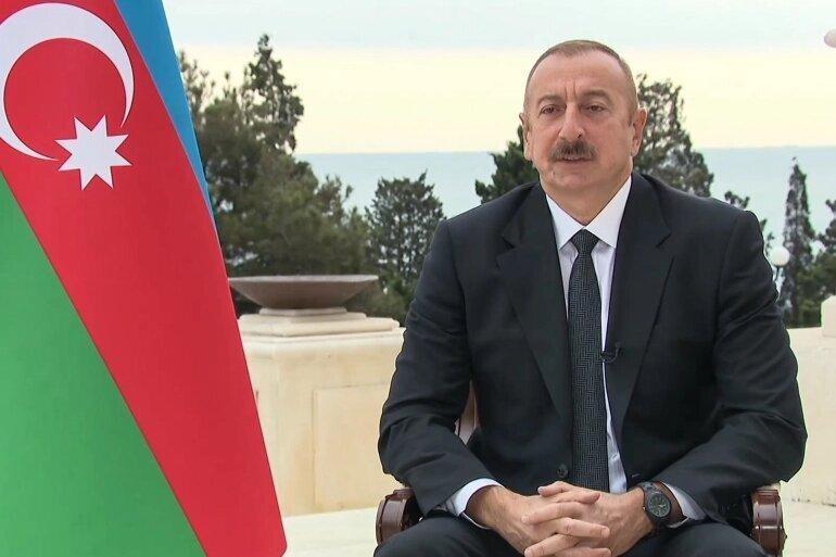 علی اف:آذربایجان کنترل 7 روستا نزدیک قره باغ را به دست گرفت