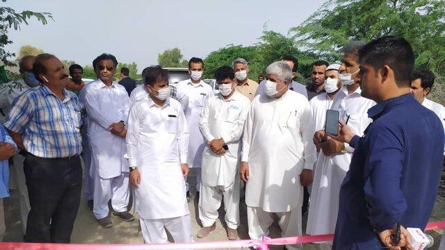 دو طرح کشاورزی در زرآباد کنارک به بهره برداری رسید