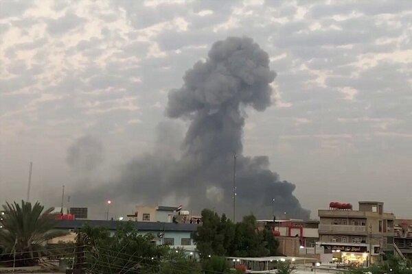 انفجار بمب در جهت خودرو های ائتلاف آمریکا در عراق