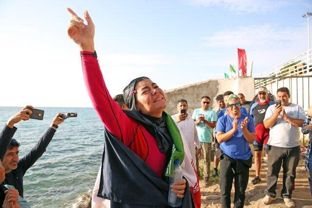 الهام اصغری سومین رکورد گینس خود را به ثبت رساند