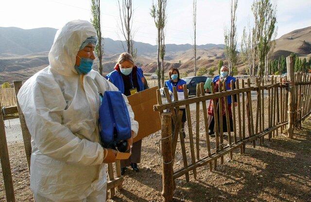 انتخابات پارلمانی قرقیزستان کلید خورد