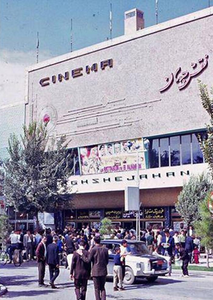 چهارباغ و سینما های 100 ساله نصف دنیا