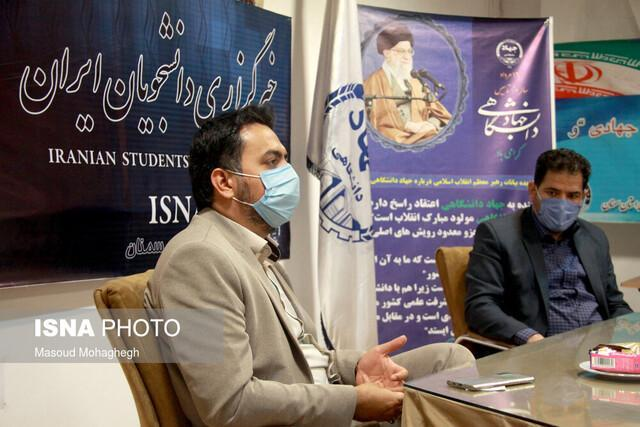 بازدید سرپرست ورزش و جوانان استان سمنان از خبرنگاران