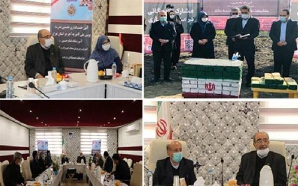 خشتگذاری نخستین مدرسه طرح آجر به آجر در استان تهران