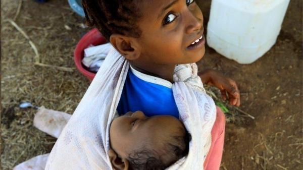 بحران تیگرای در اتیوپی، سازمان ملل: 2 میلیون کودک بی پناه در خطرند