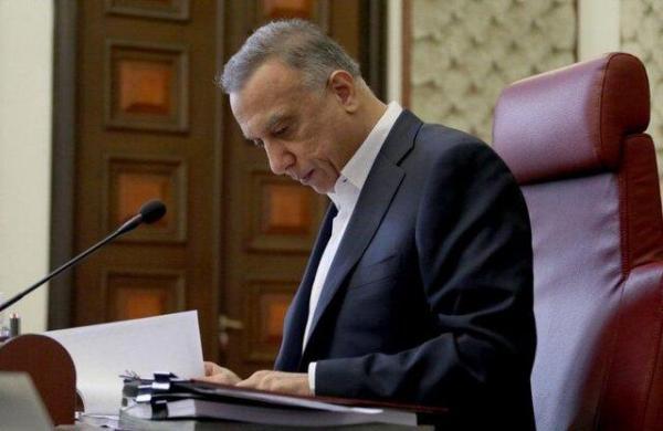 الکاظمی: برخی مظنونان حمله راکتی به منطقه سبز بازداشت شدند