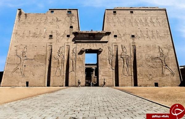 آشنایی با معبد ادفو دو چند معبد باستانی دیگر در مصر