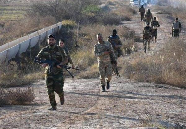 کشفیات حشد شعبی عراق در جریان عملیات در دیالی
