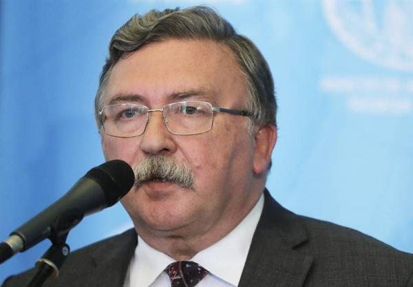 تأکید دوباره اولیانوف بر لزوم لغو تحریم های آمریکا علیه ایران