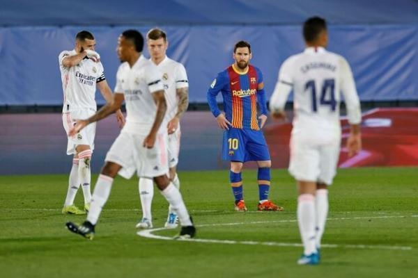 رئال مادرید با شکست بارسلونا صدرنشین شد، ادامه ناکامی مسی در گلزنی