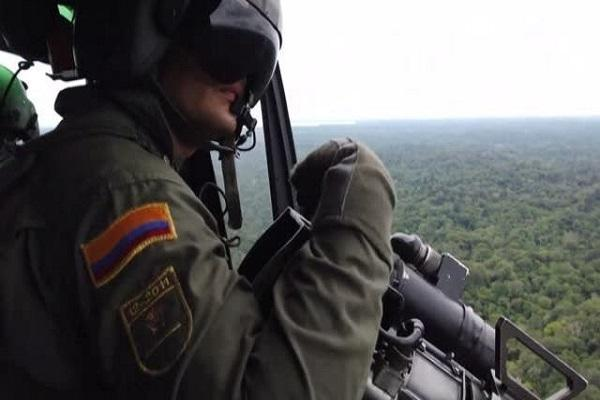 سقوط بالگرد در کلمبیا، پنج پلیس کشته شدند