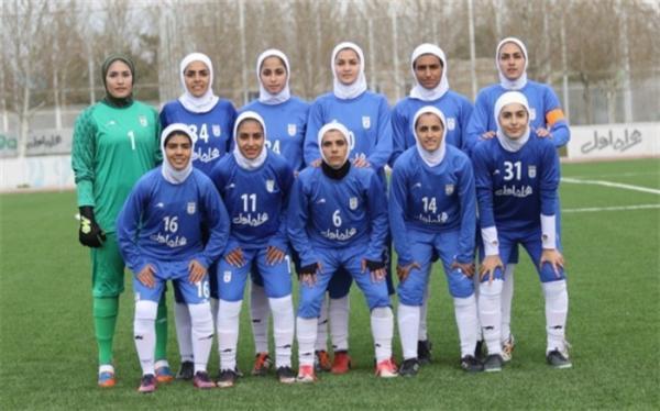 حریف محبت آمیز دختران فوتبالیست ایران معرفی شد