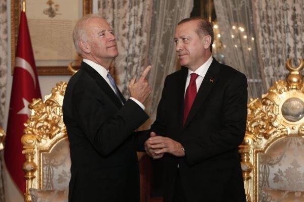 یکی از موضوعات ملاقات بایدن و اردوغان اختلافات دو کشور است