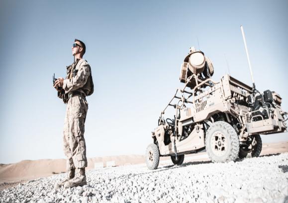 تمرین مشترک آمریکا و عربستان برای مقابله با پهپادها