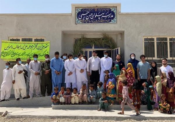 افتتاح مدرسه در منطقه محروم مرزی به نام حسن رحیمی