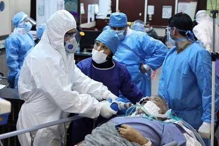 52 فوتی ناشی از ابتلا به کروناویروس ظرف 24 ساعت گذشته در مرکز