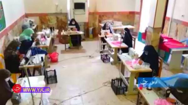 کمک زنان روستایی به مدافعان سلامت