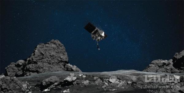 نمونه برداری فضاپیمای اسیریس رکس ناسا از سیارک بنو